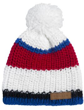 Bonnet Pull In Ice Frenchy Blanc Rouge Bleu