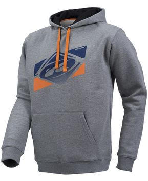 Sweat Homme Kenny Basic Gris Orange Bleu