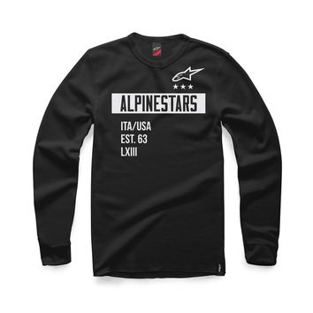 Sweat Alpinestars 2017 Valiant - Noir