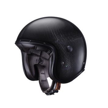 Casque Jet Caberg Freeride - Carbone
