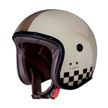 Casque Jet Caberg Freeride - Indy Beige Marron