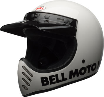 casque int gral bell moto 3 classic blanc 3as racing. Black Bedroom Furniture Sets. Home Design Ideas