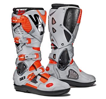 Bottes Cross SIDI Crossfire 3 SRS 2017 - Gris Rouge