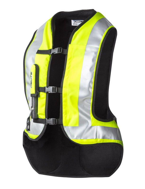 gilet air bag helite turtle jaune fluo 3as racing. Black Bedroom Furniture Sets. Home Design Ideas