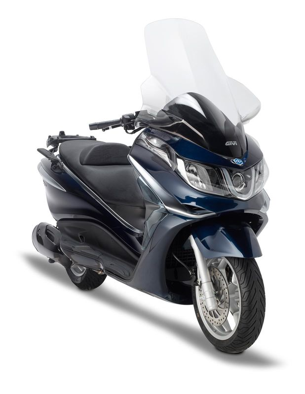 pare brise scooter givi piaggio x10 125 350 500 2012 2016. Black Bedroom Furniture Sets. Home Design Ideas