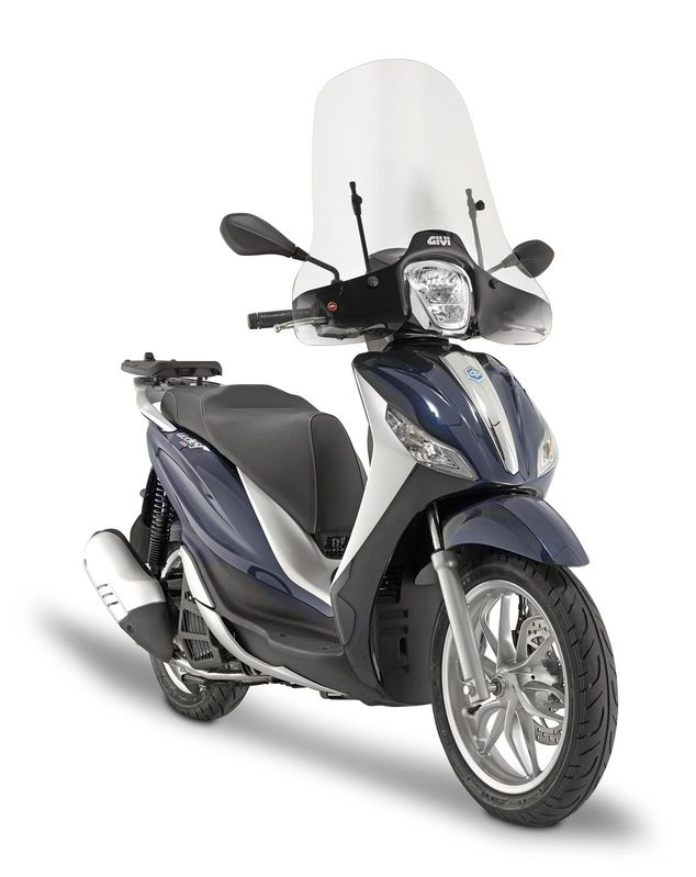 pare brise scooter givi piaggio 125 150 medley 2016 3as racing. Black Bedroom Furniture Sets. Home Design Ideas