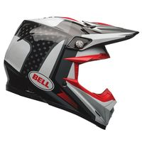 Casque cross BELL 2017 MOTO 9 Carbone Flex Vice - Noir Blanc 60/61 - XL