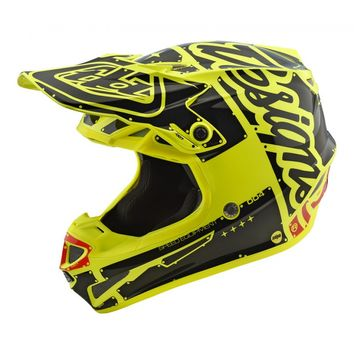 Casque cross Enfant Troy Lee Designs SE4 Factory - Jaune
