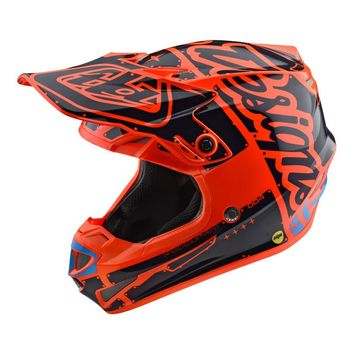Casque cross Enfant Troy Lee Designs SE4 Factory - Orange