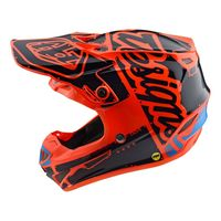 Casque cross Enfant Troy Lee Designs SE4 Factory - Orange 52/53 - L