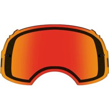 Ecran de rechange double OAKLEY Airbrake Plutonite Persimmon - Orange
