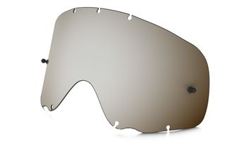Ecran de rechange simple OAKLEY Crowbar Lexan - Iridium Noir