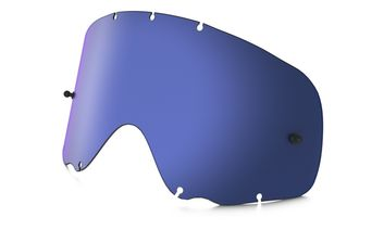 Ecran de rechange simple OAKLEY Crowbar Lexan - Iridium Bleu Ice