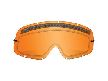 Ecran de rechange double OAKLEY O-Frame Lexan Persimmon - Orange