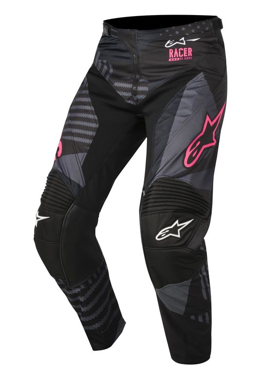 pantalon cross alpinestars 2018 racer tactical noir rose 3as racing. Black Bedroom Furniture Sets. Home Design Ideas