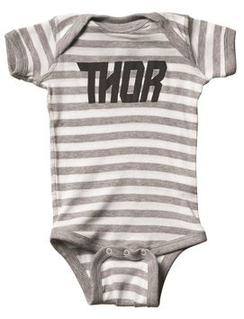 Body bébé Thor 2018 Loud - Gris