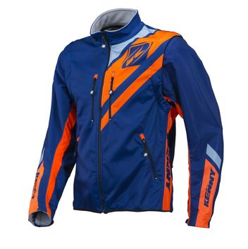 Veste Enduro KENNY 2018 Softshell - Bleu Marine Orange