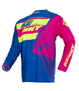 Maillot cross KENNY 2018 Track - Lime Rose