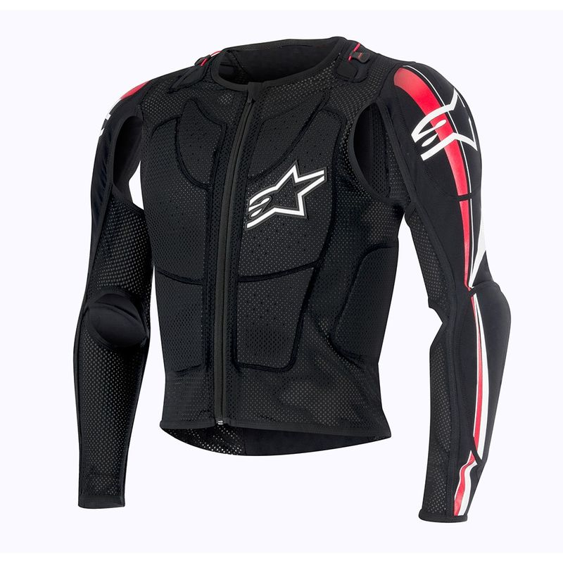 gilet de protection alpinestars 2016 bionic plus noir rouge blanc 3as racing. Black Bedroom Furniture Sets. Home Design Ideas