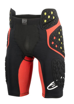 Short de protection ALPINESTARS Sequence Pro - Noir Rouge