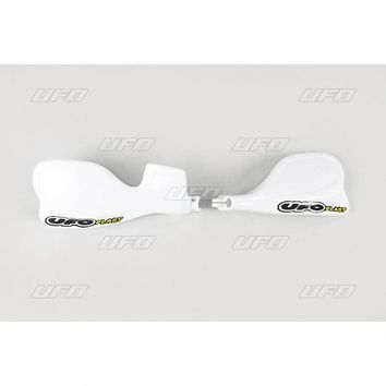 Proteges mains UFO 80/85 CR R 1996-2007 125/250/500 CR R 1990-2003 Blanc