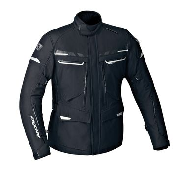 veste moto textile ixon protour hp noir gris rouge 3as racing. Black Bedroom Furniture Sets. Home Design Ideas