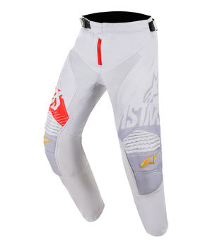 Pantalon cross Enfant Alpinestars 2018 Edition Limitée Racer Screamer Gator - Gris Orange