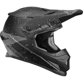 Casque cross Thor 2018 Sector Hype - Noir Gris Charbon