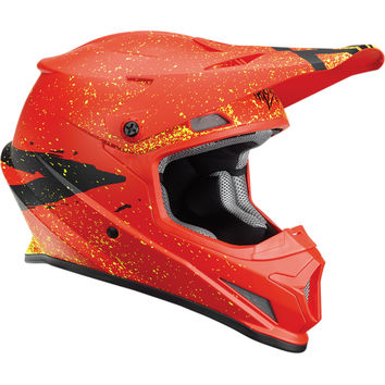 Casque cross Thor 2018 Sector Hype - Rouge Noir