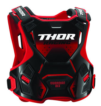 Pare pierre Thor Guardian MX - Rouge Noir