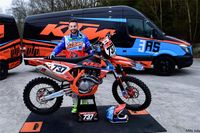 Kit déco KTM Réplica TEAM VRT 3AS 2018 Complet 125/250/300 EXC 250/350/450 EXC-F 2003
