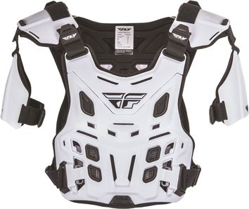 Pare pierre Fly Racing Revel Off Road - Blanc