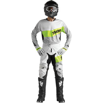 Tenue Cross 2018 Thor Fuse High Tide - Gris Lime