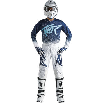 Tenue Cross 2018 Thor Pulse Air Hype - Blanc Bleu
