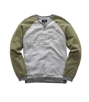 Sweat Shirt Alpinestars 2018 Pace - Gris Kaki