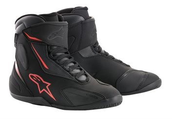 Baskets moto route Alpinestars Fastback-2 Drystar - Noir Rouge