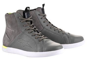 Baskets moto route Alpinestars Jam Air - Gris
