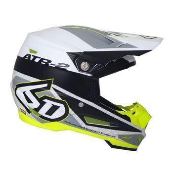 Casque cross 6D ATR-2 2018 Metric - Blanc