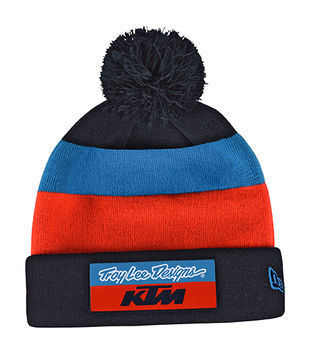 Bonnet Troy Lee Designs KTM Team - Bleu Orange
