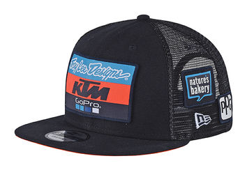 Casquette Troy Lee Designs KTM Team - Bleu