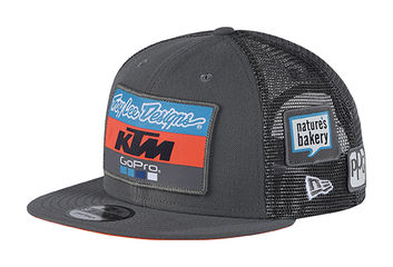 Casquette Troy Lee Designs KTM Team - Gris