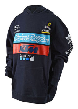 Sweat Shirt Enfant Troy Lee Designs KTM Team - Bleu