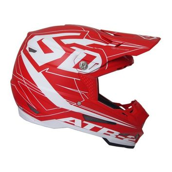 Casque cross 6D 2018 ATR-2 Aero - Rouge