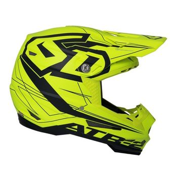 Casque cross 6D 2018 ATR-2 Aero - Jaune Fluo