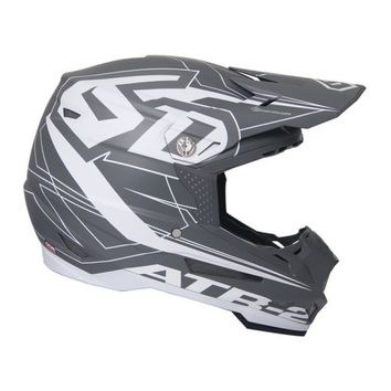 Casque cross 6D 2018 ATR-2 Aero - Gris