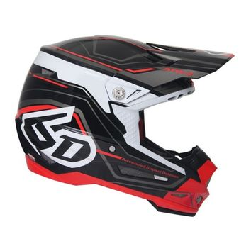 Casque cross 6D 2018 ATR-2 Circuit - Noir