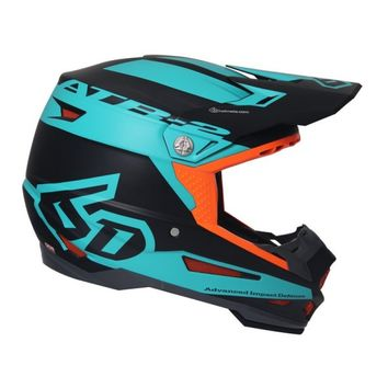 Casque cross 6D 2018 ATR-2 Sector - Turquoise