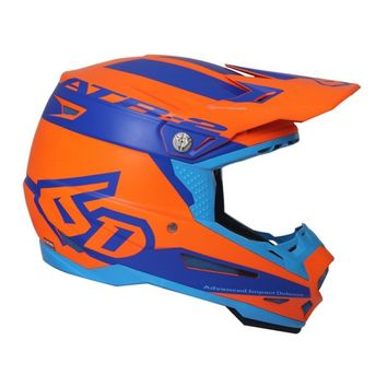 Casque cross 6D 2018 ATR-2 Sector - Orange Bleu