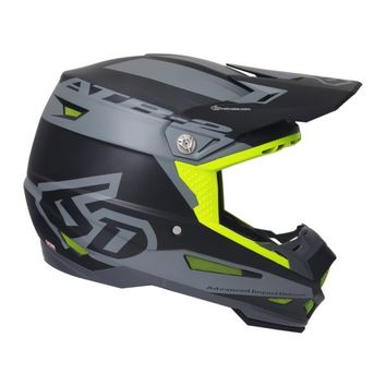 Casque cross 6D 2018 ATR-2 Sector - Gris Noir