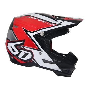 Casque cross 6D 2018 ATR-2 Strike - Rouge